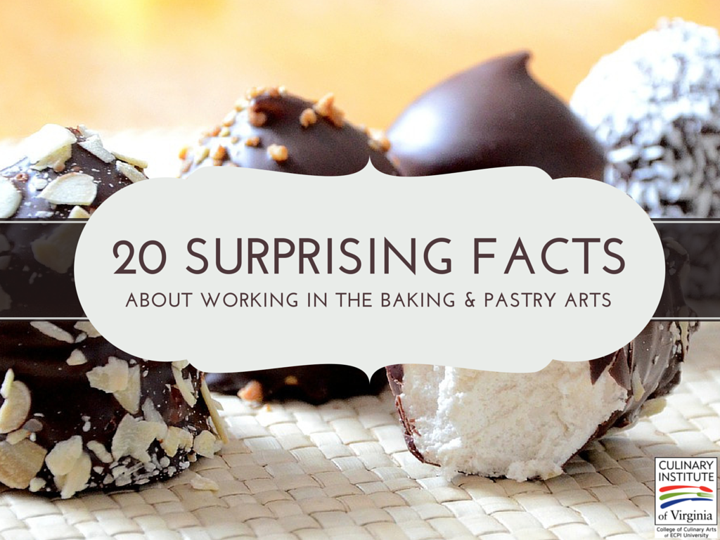 20 Surprising Facts About Working In The Baking And Pastry