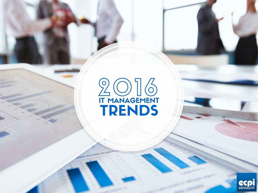 2016 IT management trends