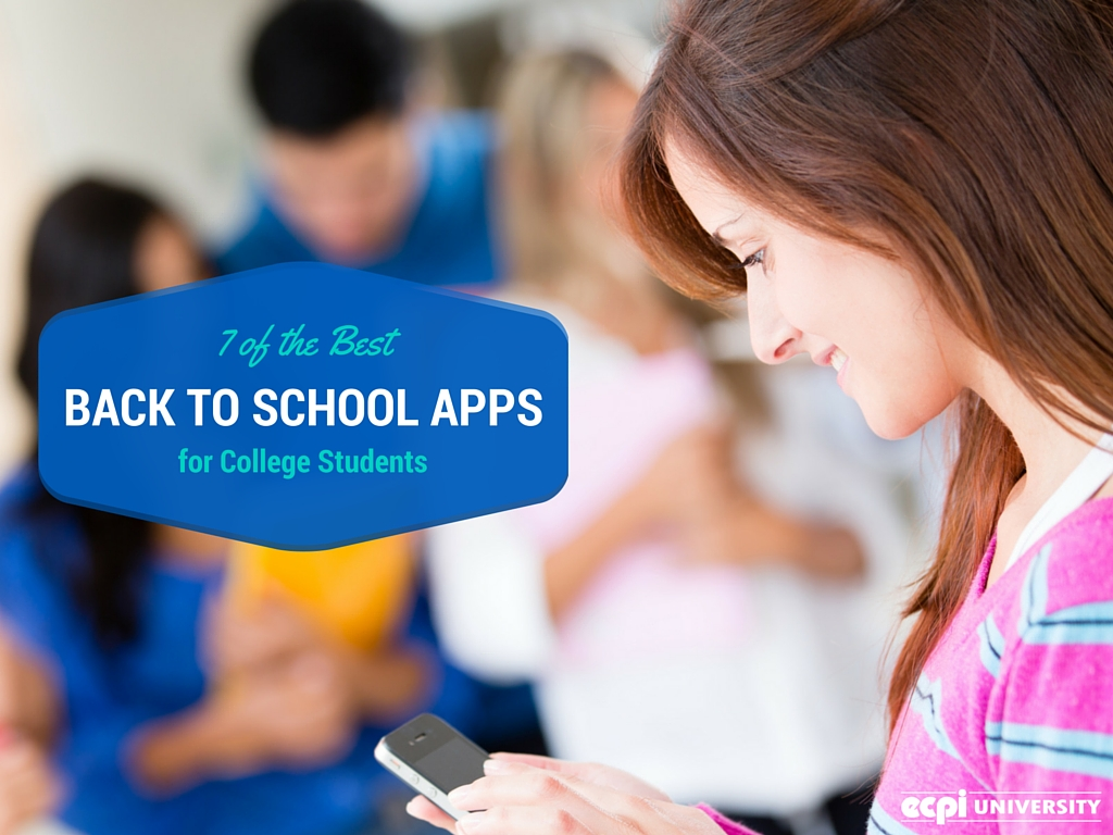 7 of the BEST Back to School Apps for College Students