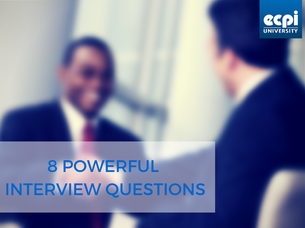 8 Questions to Ask in an Interview | ECPI University