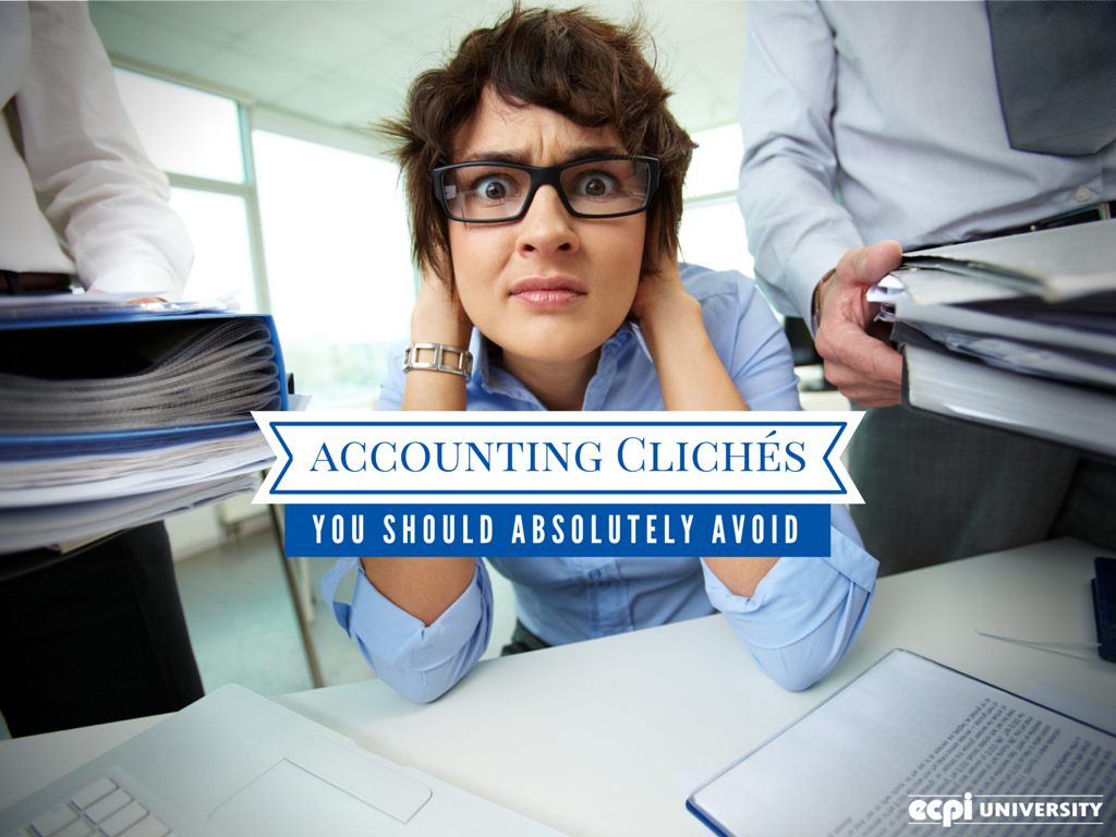 Accounting Cliches
