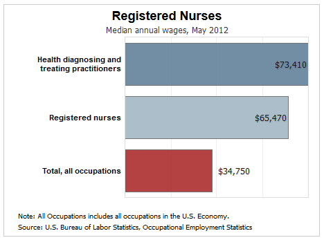 how much does a registered nurse (rn) make? | ecpi university, Human Body