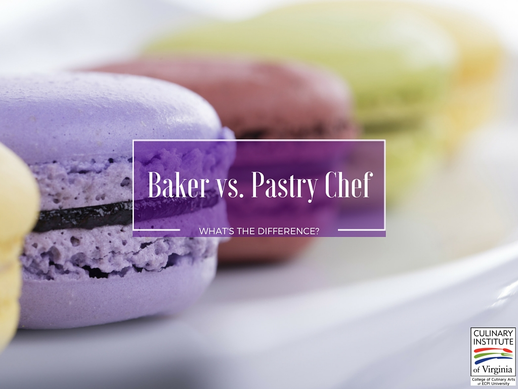 difference between baker and pastry chef