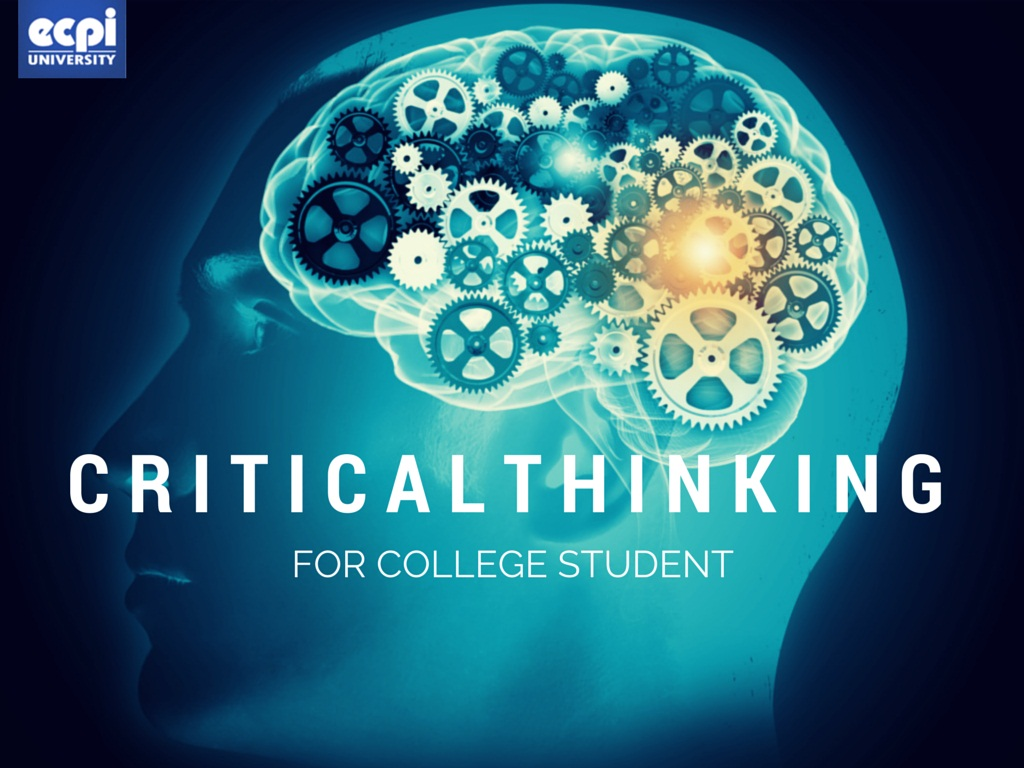 promoting creative and critical thinking skills in college biology Instructors can be thoughtful and purposeful about creating learning objectives that promote lower and higher-level critical thinking skills, and about using technology to implement activities that support these learning objectives.