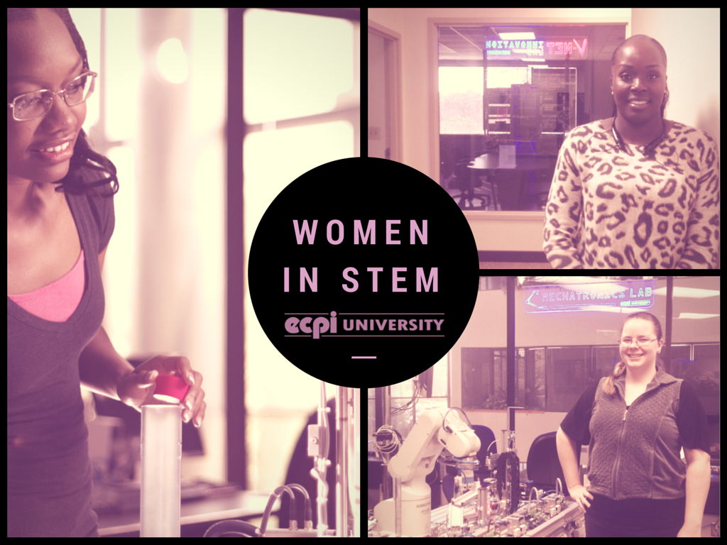 Opportunities for Women in STEM Careers - Become a STEMinist! | ECPI University