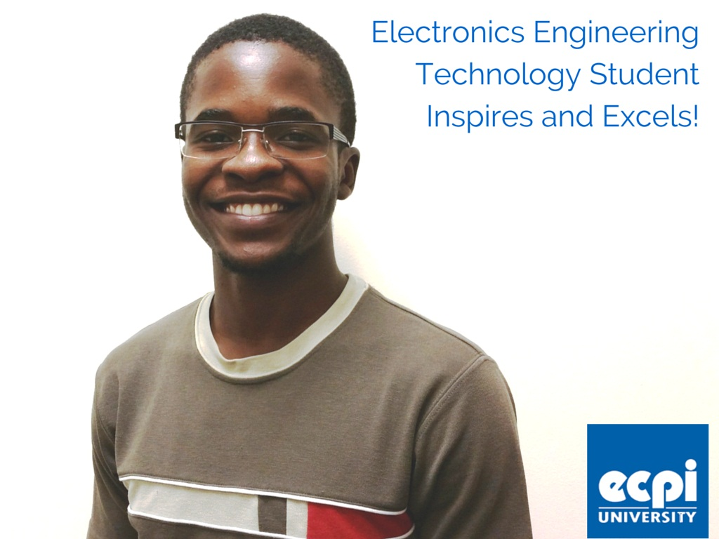 Electronic Engineering Student Inspires and Excels