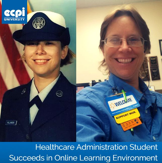 Healthcare Administration Student Succeeds in Online Learning Environment | ECPI University