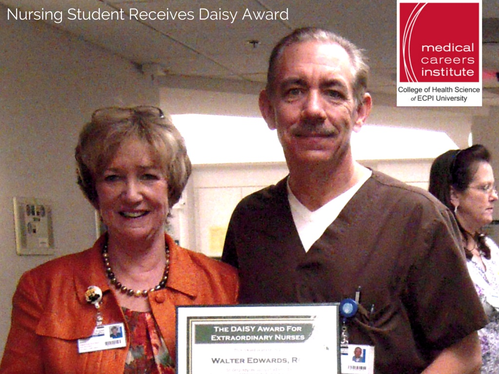In less than two years after graduating, MCI Nursing Graduate Receives Prestigious DAISY Award for Nurses find out more HERE!