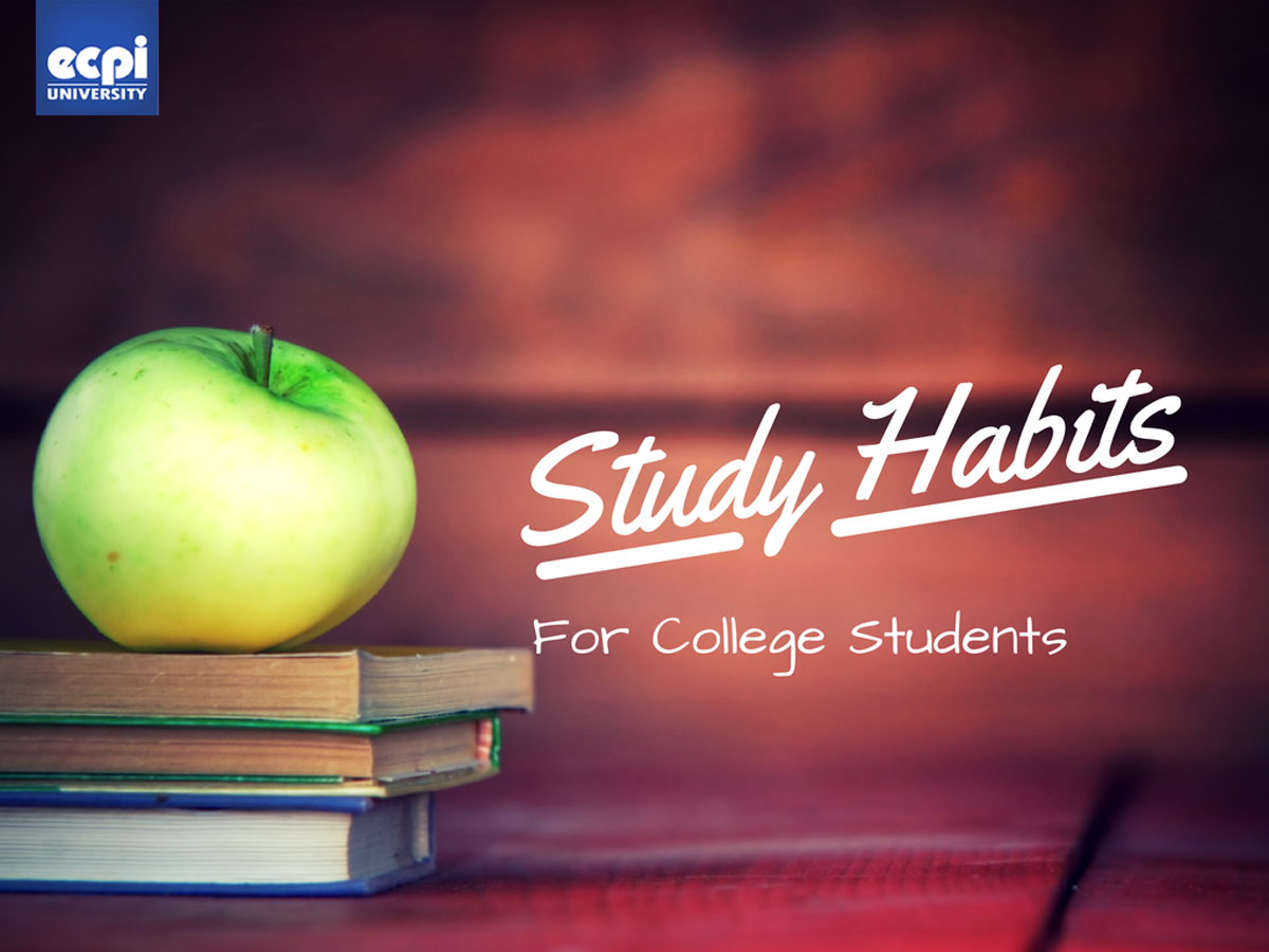 study habits of college students thesis