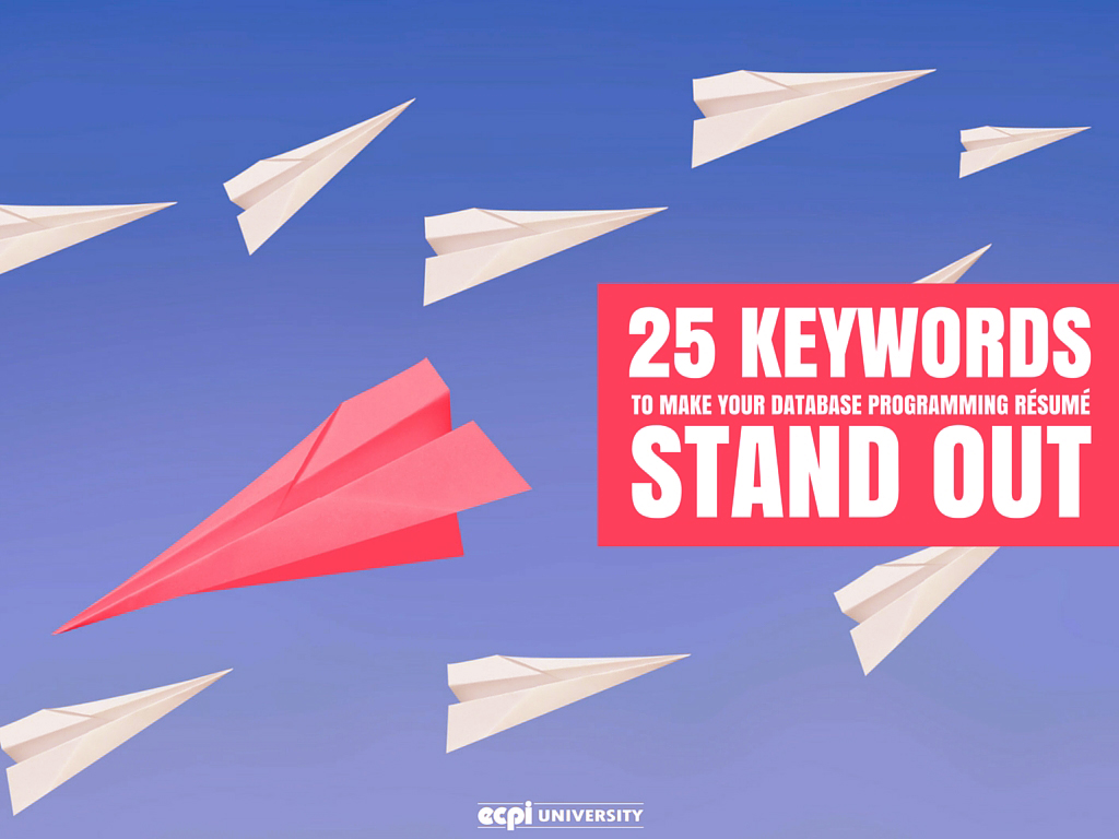 25 Keywords To Make Your Database Programming Resume Stand Out