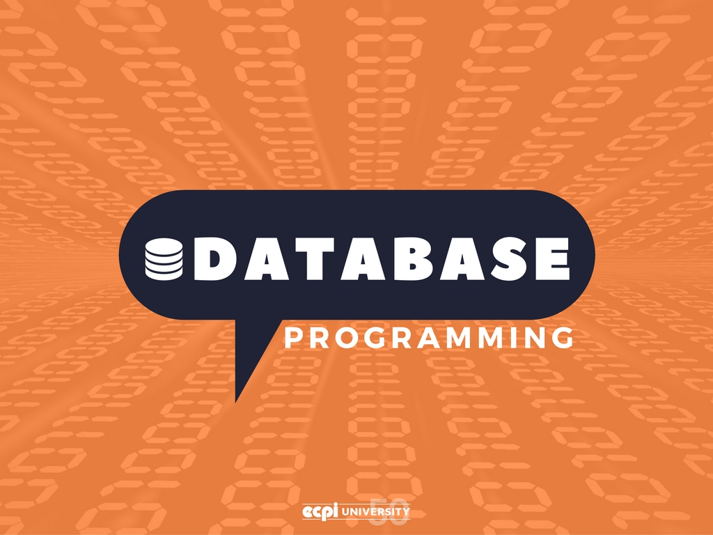 database and programming After successfully completing this program, the student will be able to design database models and utilize computer programming languages to create and manipulate databases the fundamentals of programming and software development, as well as structured query language (sql) and javascript will be taught in the program.