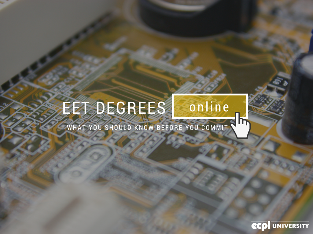 Eet Degrees Online What You Should Know Before You Commit