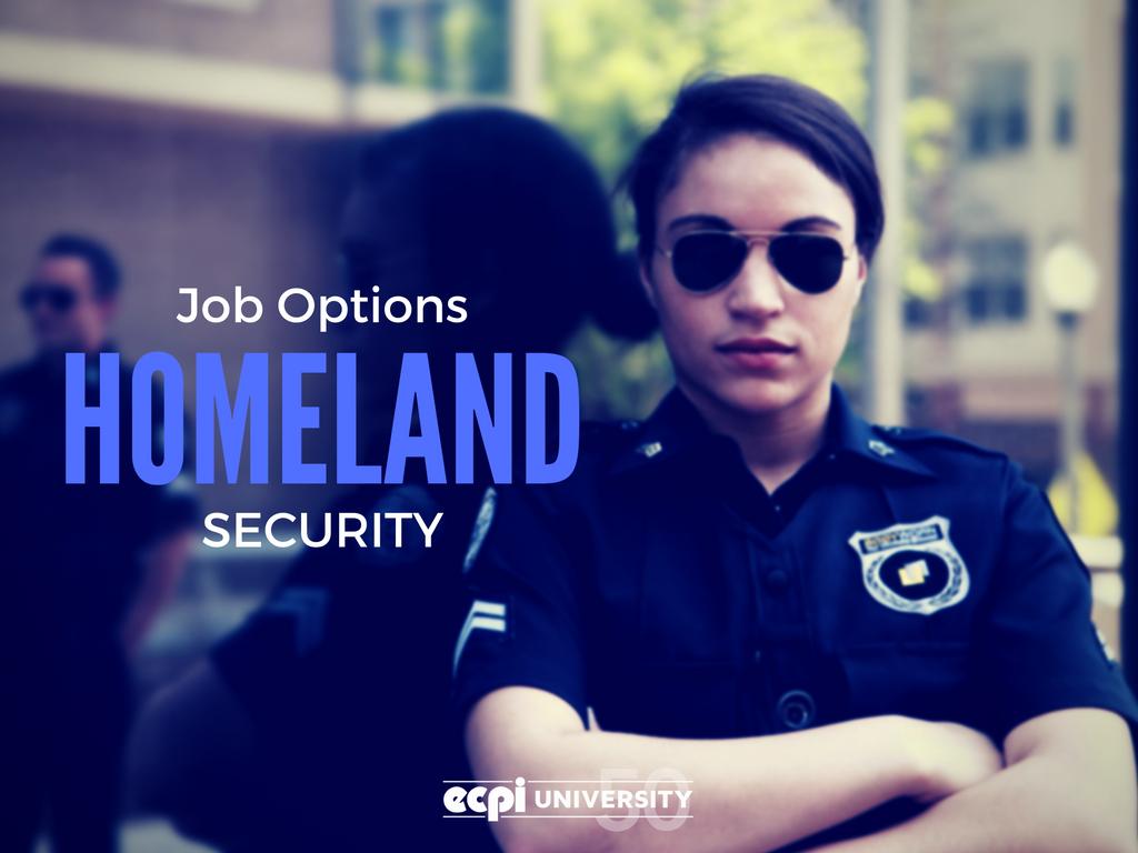 security job options homeland security job options