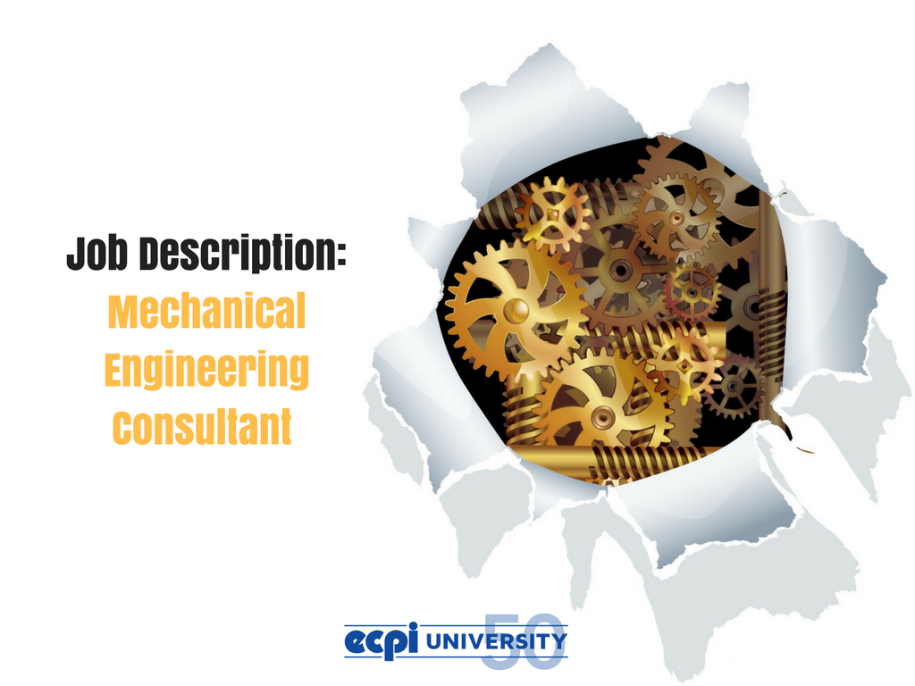What Does a Mechanical Engineering Consultant Do?