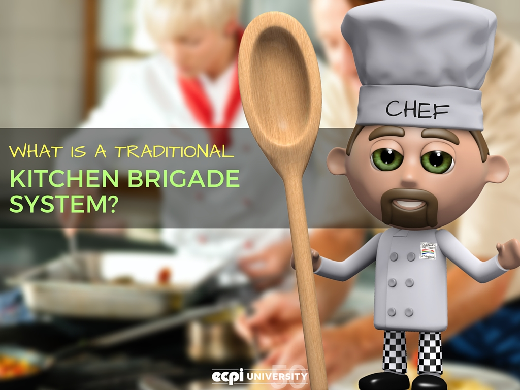 what is a traditional kitchen brigade system ecpi university culinary institute of virginia - Kitchen Brigade