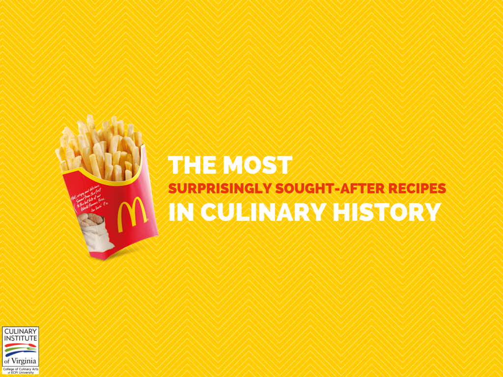 history of culinary arts Food is the one thing that has always been and will continue to be a big part of our daily lives as a result of the family recipes that we carry with great care from many generations passed.