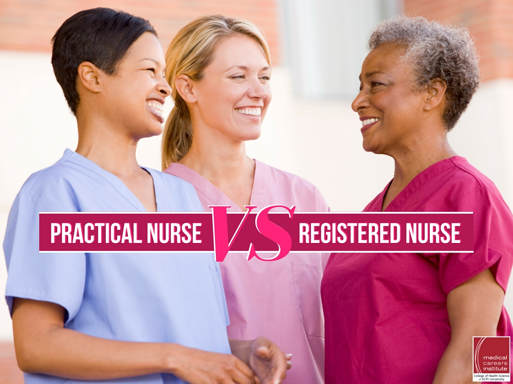 Practical Nurse vs Registered Nurse