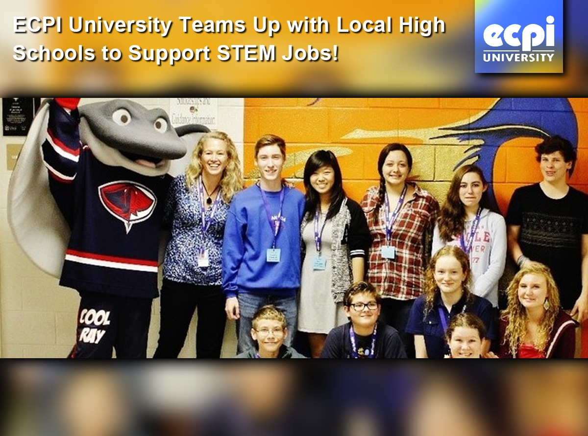 ECPI Supports High School STEM