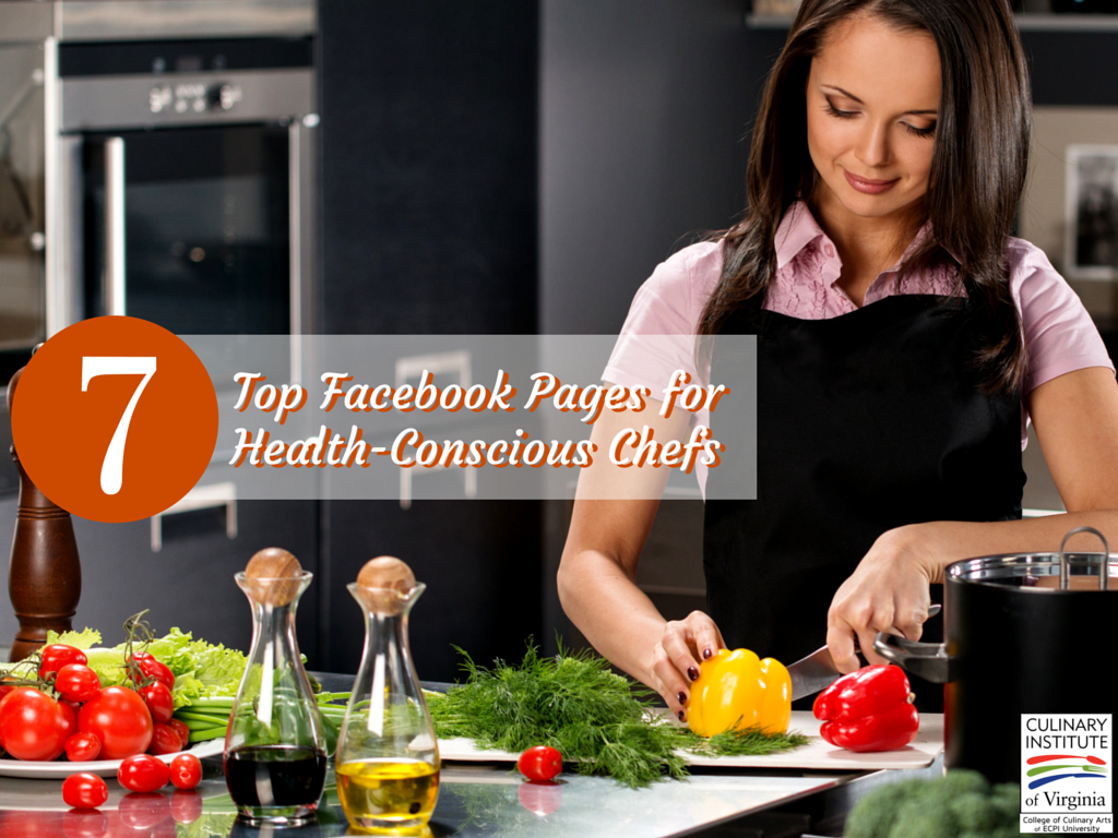 Top Facebook Pages for Health-conscious Chefs