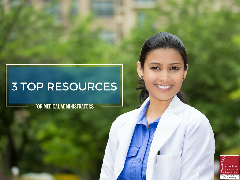 resources for medical administrators
