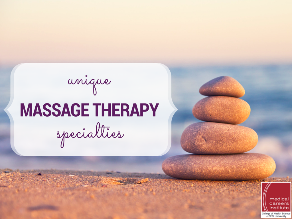 Massage Therapy Specialties