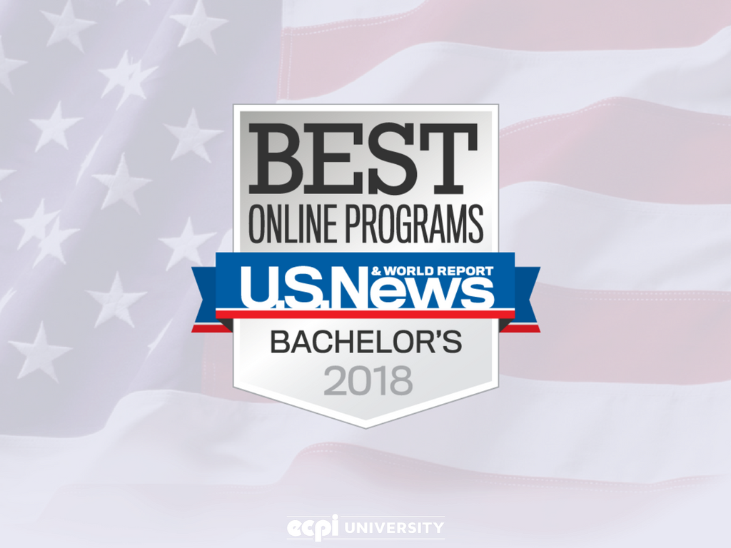 U.S. News & World Report College Rankings finds ECPI University Online Bachelor's Programs Among Top 10 Percent