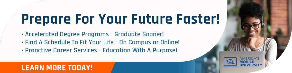 Prepare For Your Future Faster, Online and On Campus!