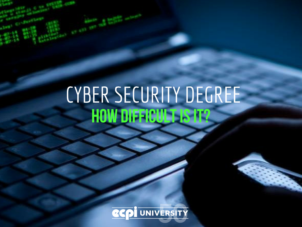 How Difficult is a Cyber Security Degree?