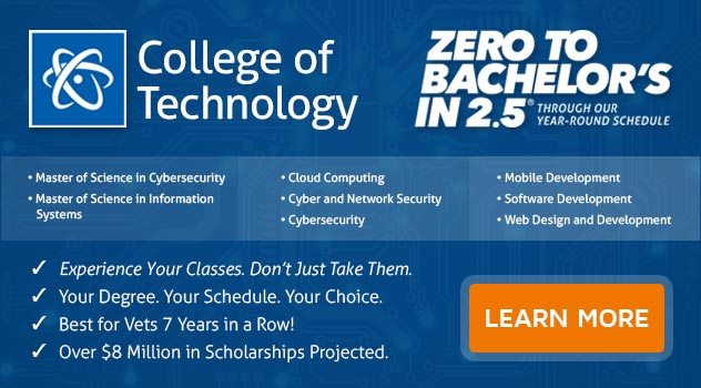 Learn more about ECPI's College of Technologyiot is TODAY!