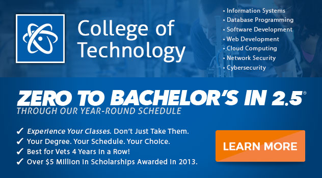 Learn more about ECPI's College of Technology TODAY!