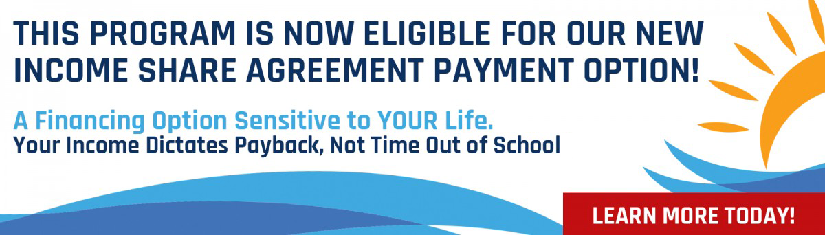 Offered at ECPI University, an Income Share Agreement (ISA), is a customized finance plan that focuses on income based payments providing a flexible and secure tuition option for students.