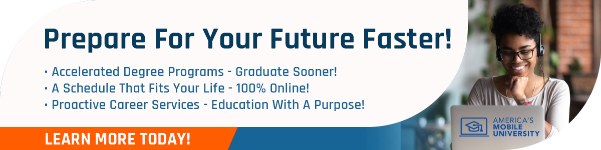 Prepare For Your Future Faster, 100% Online!