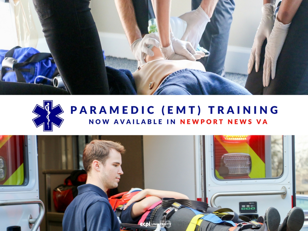 Paramedic (EMT) Training Now Available in Newport News