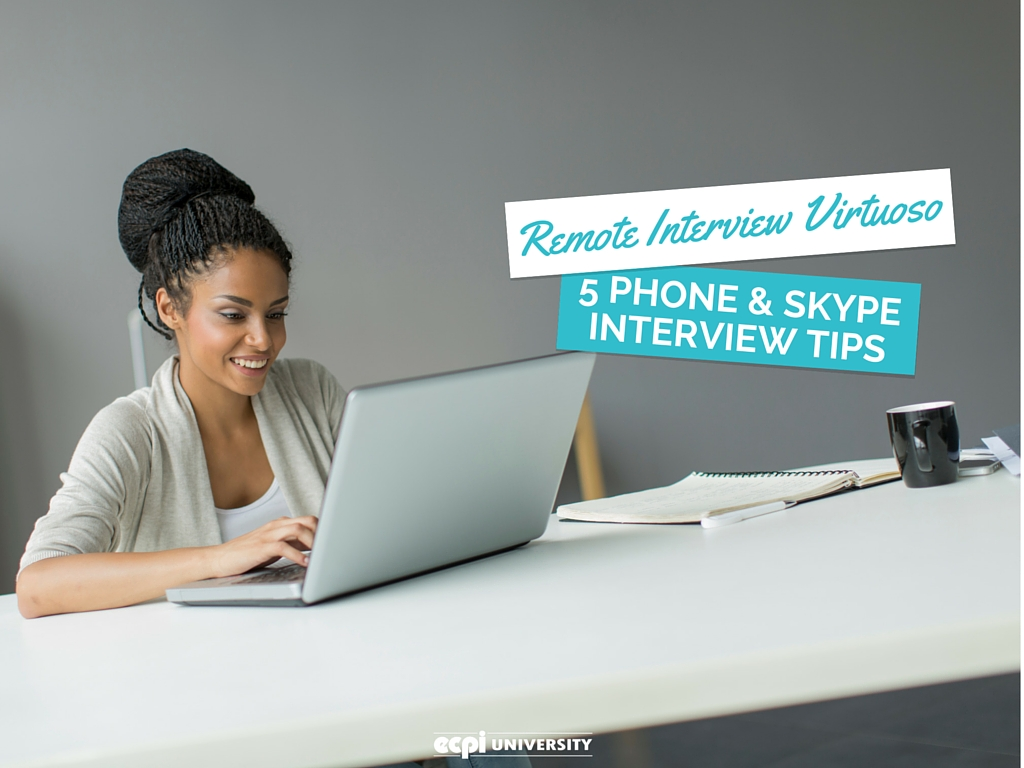 phone and skype interview tips