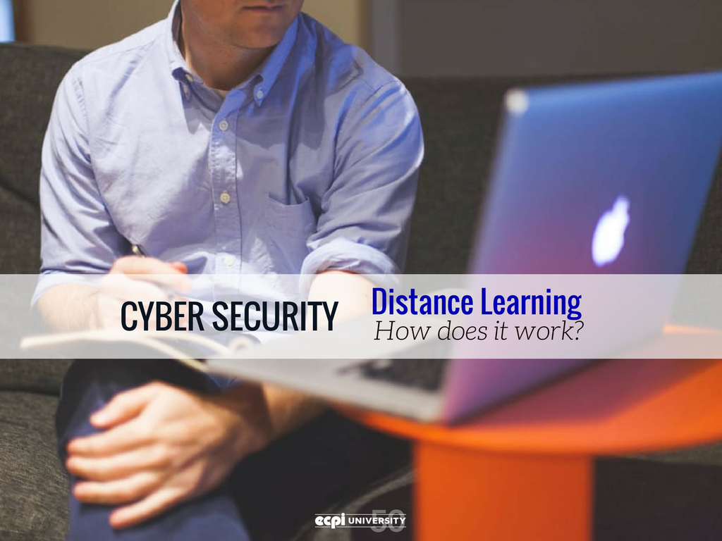 Distance Learning for Cyber Security: How does it Work?