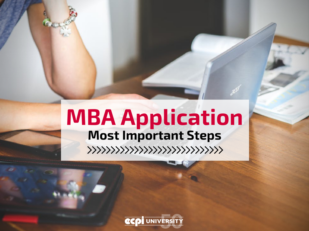 Most Important Part of an MBA Application?