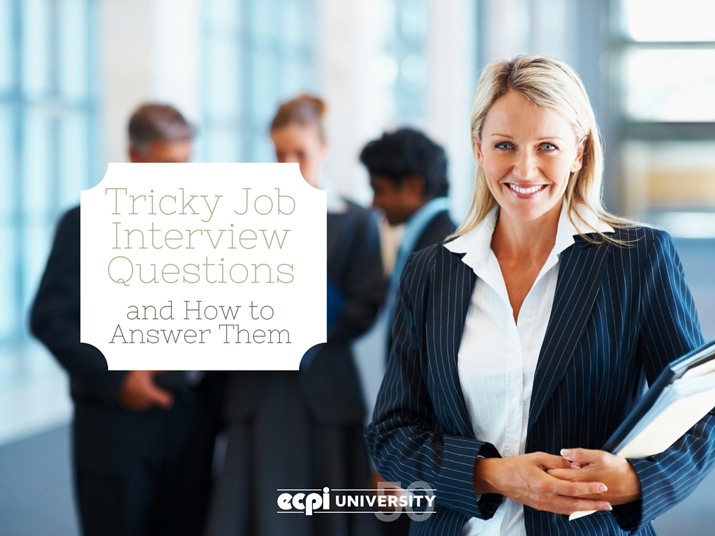 job interview questions and how to answer them tricky job interview questions and how to answer them