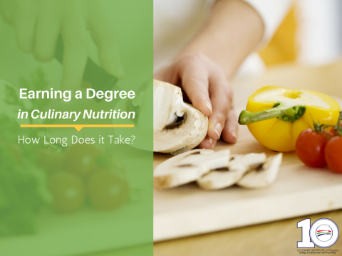 How Long Does it Take to Earn a Culinary Nutrition Degree?