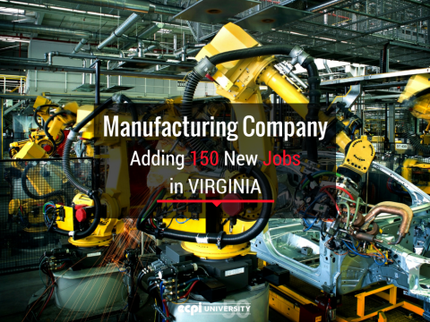 idX Corporation Adding 150 New Jobs in Spotsylvania County