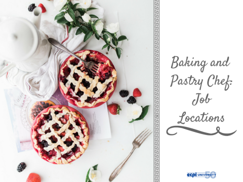 Where Can You Work as Baking and Pastry Arts Chef?