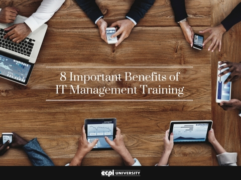 Benefits of IT Management Training