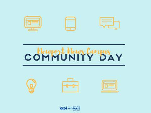 ECPI University's Newport News Campus Celebrates Community Day