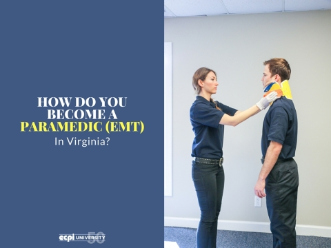 How do you Become a Paramedic in Virginia?