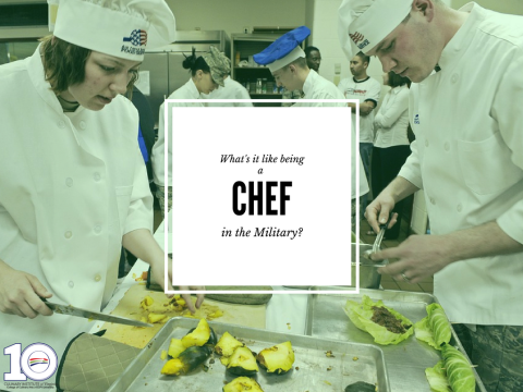 What Is It Like to Be a Chef in The Military?