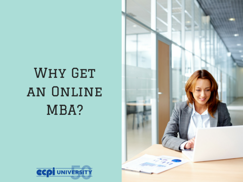 Why Earn an MBA Online?