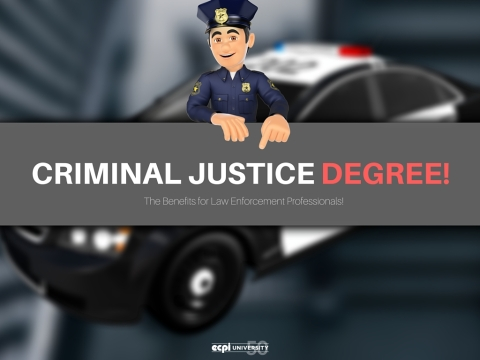 The Benefits of a Criminal Justice Degree for Law Enforcement Professionals | ECPI University