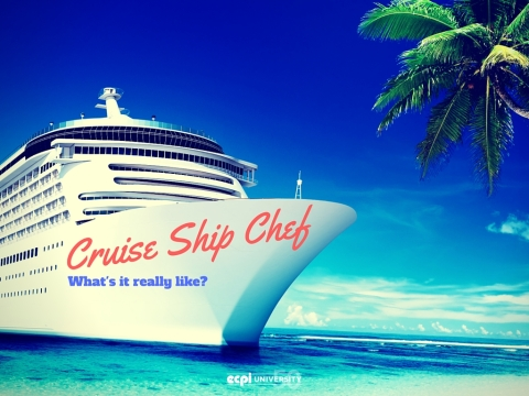 What is it like to Work as a Chef on a Cruise Ship? ECPI University