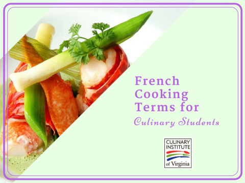 French Cooking Terms every Culinary Student Should Know