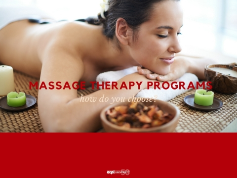 How Do I Choose a Massage Therapy Training Program?