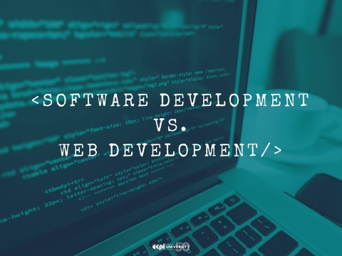 Software Development vs. Web Development: Which Concentration Should I Pick?